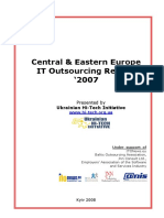 Central&Eastern Europe IT Outsourcing Review 2007