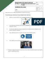 Seguridad. Limpieza de Inyectores Common Rail