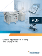 Global Application Tooling and Equipment