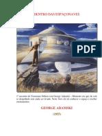 Adamski George Dentro Das Espaonaves