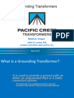 IEEE Grounding Transformers
