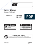 Echo Blower Pb-403t