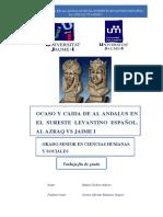 OCASO Y CAIDA DE AL- ÁNDALUS EN EL SURESTE LEVANTINO ESPAÑOL. AL-AZRAQ  VS  JAIME I