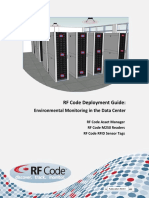 Deploying Asset Manager and the RF Code Environmental Monitoring Solution