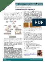 Nanotemplating Using Block Copolymers
