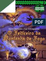 O Feiticeiro Da Montanha de Fog - Ian Livingstone