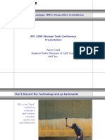 Magnetic Flux Leakage MFL Inspection Limitations