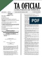 Gaceta Oficial Extraordinaria 6.207 - Notilogía