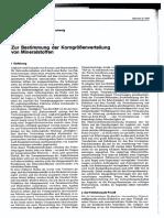 W.arand-Zur Bestimmung Der Korngrößenverteilung Von Mineral Stoffen-1978