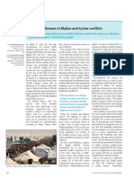 Infectious Diseases in Malian and Syrian Crisis