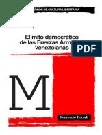 El mito democrático de las Fuerzas Armadas venezolanas