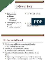 La Crisis de 1929 Al 32 en El Perú