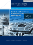 DoD Needs an Effective Process  to Identify Cloud Computing  Service Contract