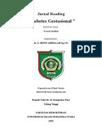 Gestational Diabetes (Gdm)