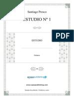 Estudio Nº 1 - Santiago Presco
