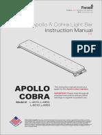 Cobra Apollo Lightbar49-60