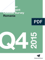 Manpower Employment Outlook Survey Romania Q4 15