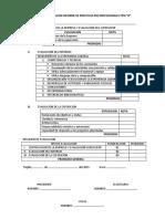 Ficha de Evaluacion Informe de Practicas Pre Profesionales Tipo