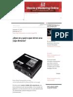 ¿Que Es y Para Que Sirve Una Caja Directa_ - 7 Notas Estudio
