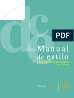 Manual de Estilo - DCE