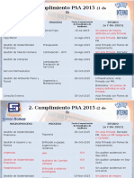 Cumplimiento PAA 2015
