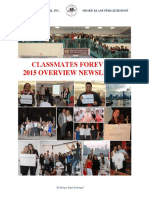 Classmates Forever 2015 Year Overview