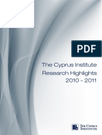 CyI Research Highlights 2010 2011 Final