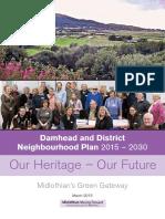 Damhead and District Neighbourhood Plan 2015 – 2030