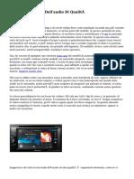 Il Blog Sul Mondo Dell'audio Di Qualità
