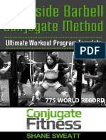 Westside Barbell Conjugate Method - The Ultimate Workout Program Template