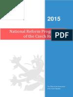 National Reform Programme in Czech Republic