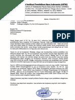 Surat Undangan Mengikuti to UKNI X Januari 2016