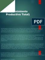 Diapositivas TPM JUNTAS