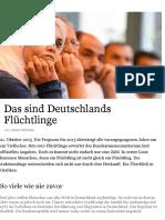 Deutschlands Flüchtlinge in Grafiken