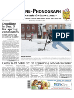 December 30, 2015 Tribune-Phonograph