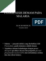 Patogenesis Demam Pada Penyakit Parasit