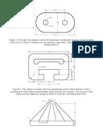 Autocad 3D and 2D Practice Activities