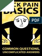 Back Pain Basics Web