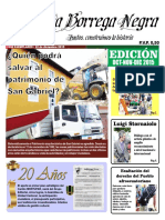 La Borrega Negra Publicación Agosto-Diciembre 2015