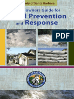 Homeowner's Guide for Flood Prevention and Response