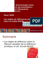 Citations Selon Mcgill (1)