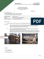 2015-12-30 Murphey Candler Park Bridge - Field Observation Report