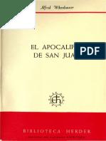 Alfred Wikenhauser-el Apocalipsis de San Juan