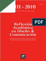 Reflexion Academica en Diseno y Comunicacion