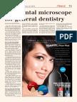 dental microscope for general dentistry
