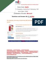 [Braindump2go] New 70-673 Braindump Free Download 31-40