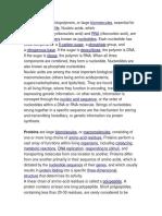 Biology Information