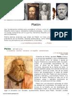 Platón 427-347 a.n
