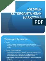 MI - 3 Asesmen Ketergantungan Narkotika (Revisi 2013)