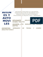 Los Aviones y Los Automoviles